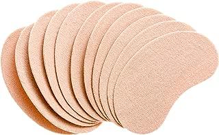 Plantar Sub-Metatarsal Pedi Pad – Adhesive Moleskin Sateen Heel & Foot Pads (20 Count)