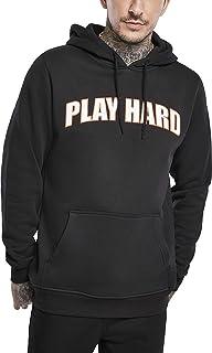 Mister Tee Men's Play Hard Hoody Hooded Sweatshirt