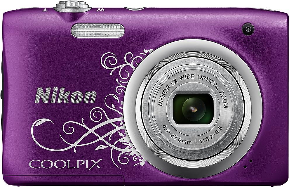 Nikon COOLPIX A100 - Cámara Digital (Sepia Batería Cámara compacta 1/2.3 46-23 mm Auto)