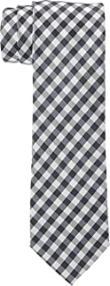 OCTAVE Men's Slim Luxury Woven Elegant Belief Style Formal Business Party Tie, Grey/Black