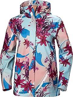 Helly Hansen Women's Moss Hooded Waterproof Windproof Raincoat, 181 Dragon Fruit, X-Large