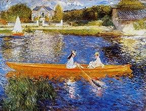 Pierre Auguste Renoir The Seine at Asnieres - The Skiff National Gallery - London 30