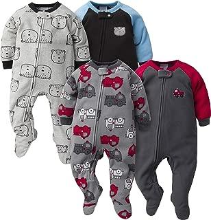 Baby Boys' 4-Pack Blanket Sleeper