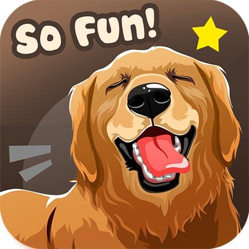 Golden Retriever Dog Sticker Emojis - Animated Keyboard