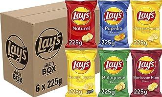 Lay's Multibox Chips, 6 x 225 g