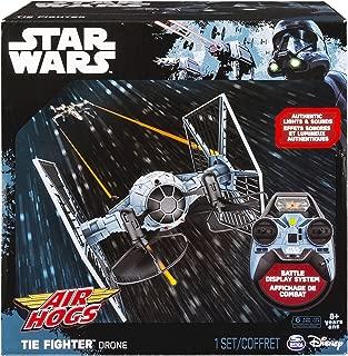 Air Hogs Star Wars Remote Control TIE Fighter Drone Indoor/Outdoor Vehicle