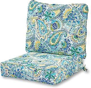Greendale Home Fashions Deep Seat Cushion Set in Baltic