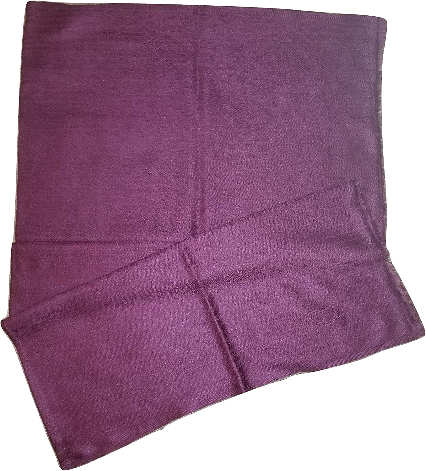 PASHMINA STOLE AND WRAPS (BRIGHT PINK)