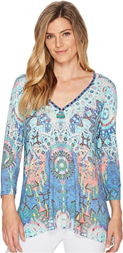 Hale Bob Room To Glow Slub Jersey Top
