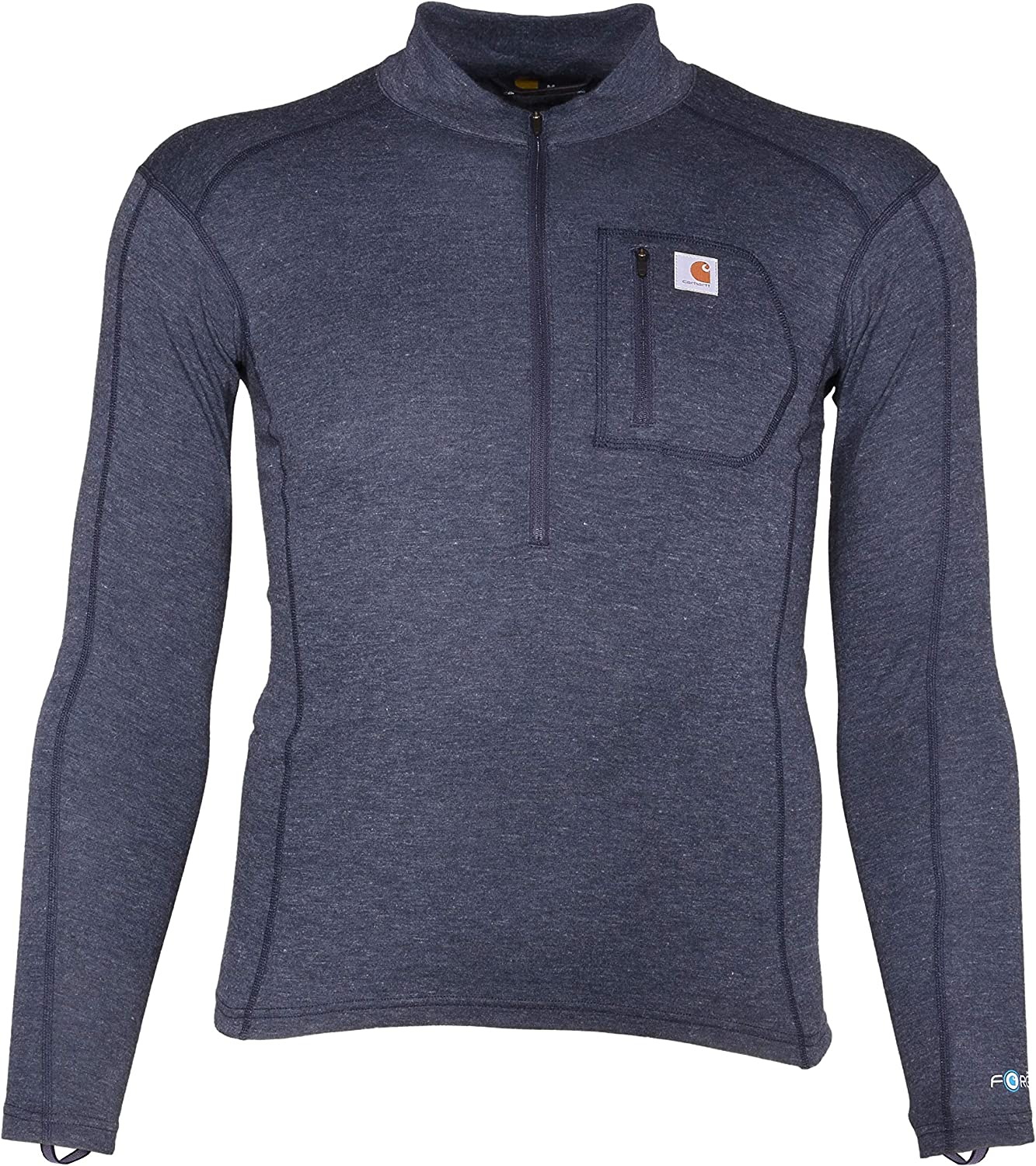 Carhartt Men's Force Tech Quarter-Zip Sl Thermal Special Campaign Layer Base Long Detroit Mall