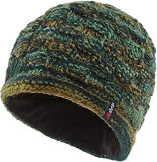 Women's Basket Weave Rimjhim Hat - Rathna Green