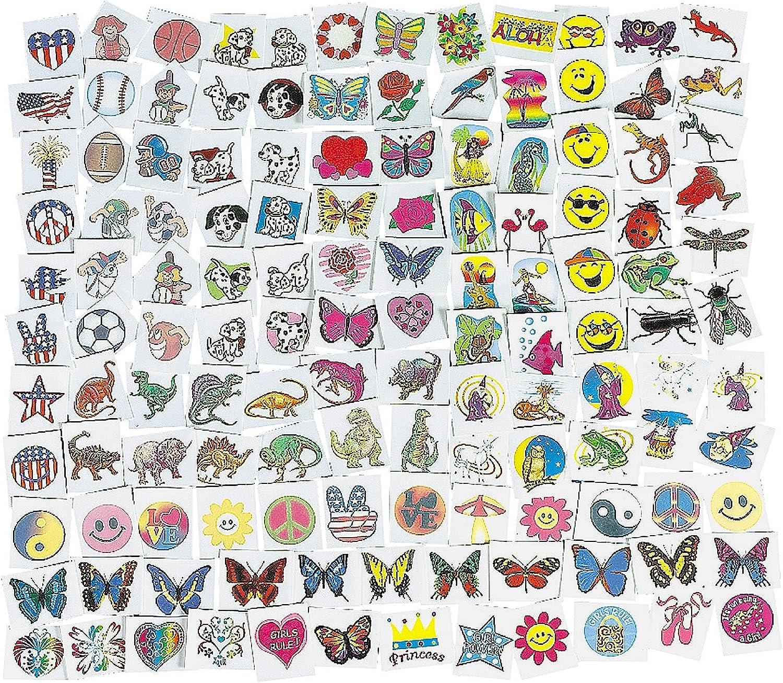 mas preferencial Fun Fun Fun Express Mega Tattoo Assortment (1500 Piece)  precios bajos