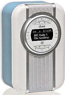 VQ Christie DAB & DAB+ Digital Radio with FM, Bluetooth/NFC, Alarm Clock, Rotating Display & Enamel Fascia – Blue