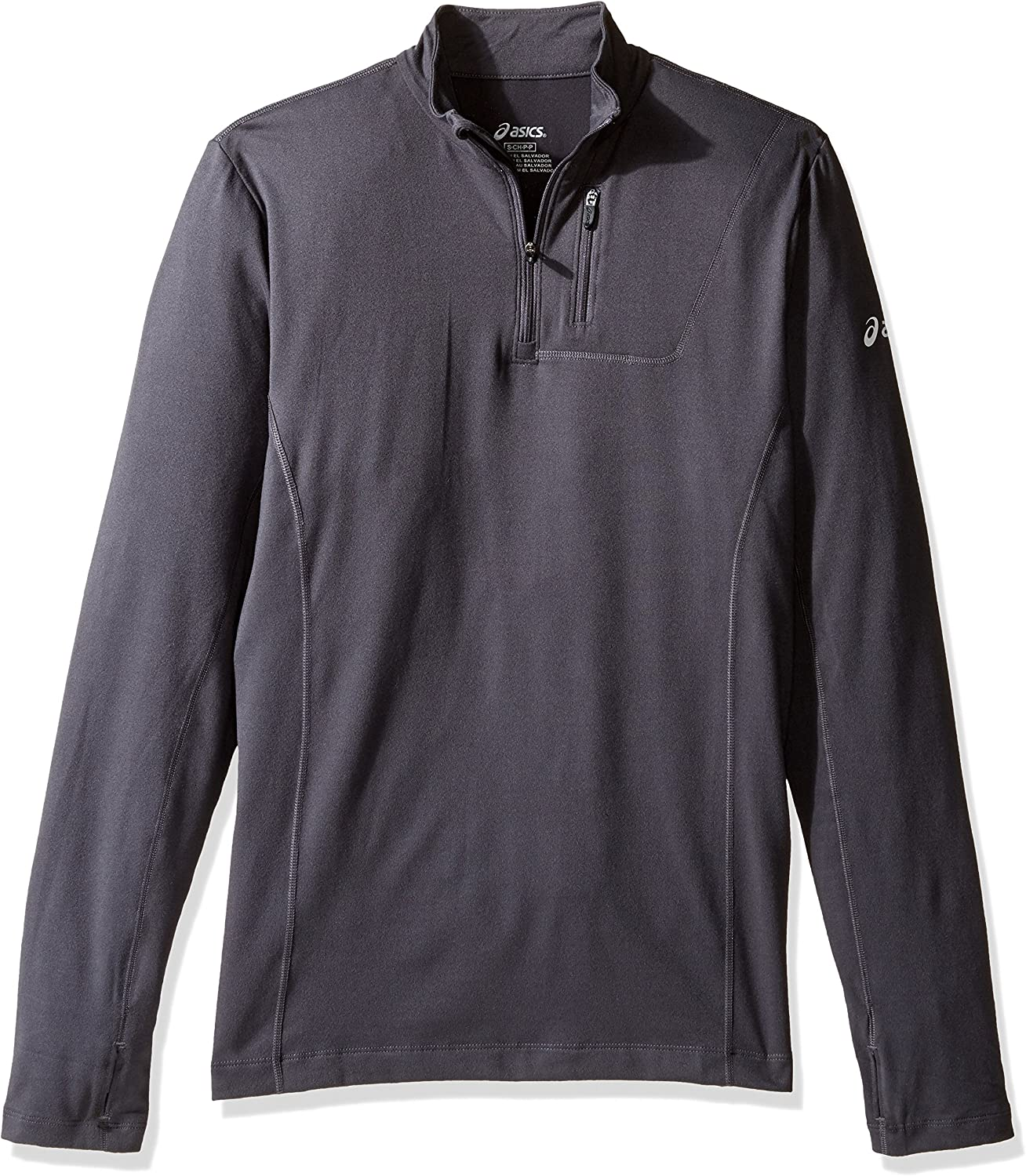 Asics Herren Team 1 2Zip Long Sleeve Top
