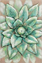 Empire Art Direct Succulent Iron Primo MixedHand Painted Sculpture 3D Wall Art, 16 x 1.6 x 24, Green