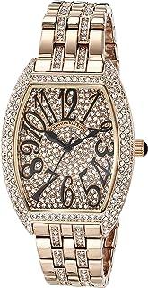 Christian Van Sant Women's Elegant Sparkle Quartz Stainless Steel Strap, Rose Gold, 16 Casual Watch (Model: CV0262)