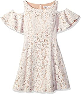 b3bcde7848 Eliza J Womens Cold Shoulder Fit and Flare Dress Dress