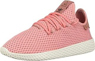 adidas x Pharrell Williams Big Kids Tennis HU J Pink Tactile Rose Footwear White Size 6.0 US