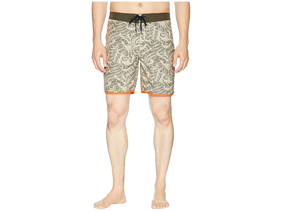 Hurley Phantom Kanpai 18 Boardshorts (Khaki) Men