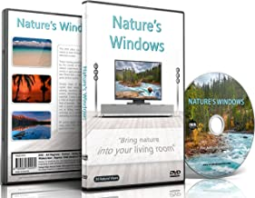 Nature's Windows DVD-24 Nature Scenes in shot in HD with Nature Sounds