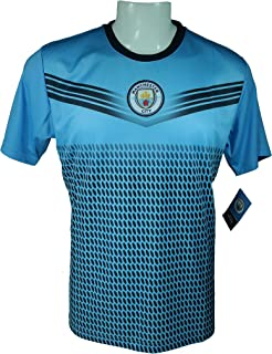 Icon Sport Group Manchester City F.C. Soccer Adult Soccer Training Performance Poly Jersey P010