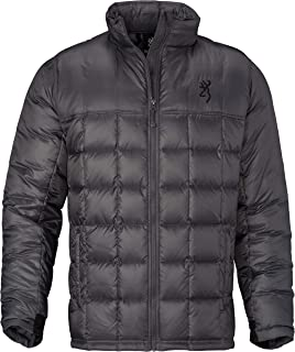 Browning Jacket, Windy Mountain,Down,Char,M