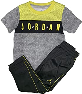 Jordan Little Boys' 2-Piece Activewear Set Graphic T-Shirt & Track Pants
