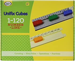 Didax Educational Resources UNIFIX 1-120 Number Line Track