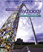 Best introduction to psychology coon 13th Reviews