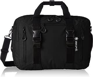 [スノーピーク] ビジネスバッグ 3wayビジネスバッグ A4収納 3WAY ハンドバッグ ショルダーバッグ バックパック UG-729BK