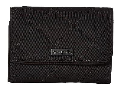 Vera Bradley Performance Twill RFID Riley Compact Wallet