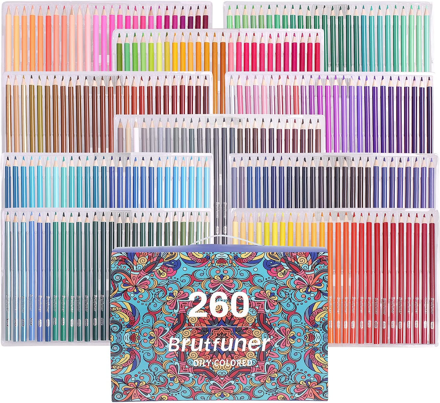 260 Colored Pencils for Kids Sketching Beauty products Drawing Shading 2021new shipping free Coloring