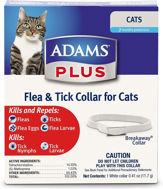 Adams Plus Flea Ranking TOP10 and Tick 55% OFF All Cat Collar Sizes