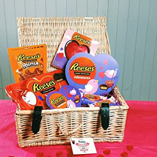 I Love You Reese's Heart Hamper By Moreton Gifts
