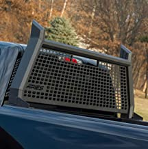 ARIES 1110101 AdvantEDGE Black Aluminum Truck Headache Rack Cab Protector Select Dodge, Ram 1500, 2500, 3500