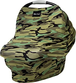 AS SEEN ON Shark Tank The Original Milk Snob Infant Car Seat Cover and Nursing Cover Multi-Use 360° Coverage Breathable Stretchy