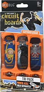 Tony Hawk Circuit Boards By Hexbug TRI Pack- Color/styles May Vary