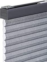CHICOLOGY Cordless Cellular Shades Privacy Single Cell Window Blind, 28