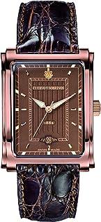 [クエルボ・イ・ソブリノス]Cuervo y Sobrinos 腕時計 紳士用 3針 1015-2BR メンズ 【正規輸入品】