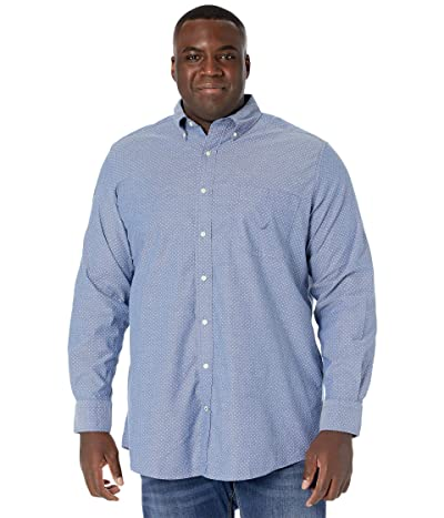 Nautica Big & Tall Big Tall Long Sleeve Printed Woven (Limoges) Men