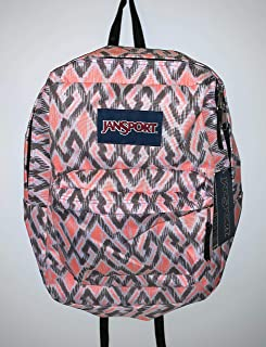 JanSport Superbreak Backpack (Shady Grey Ikat)