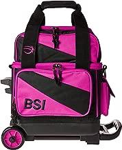 BSI Single Roller Bag Black/Pink