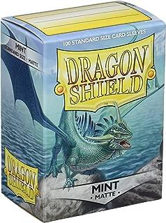 dragon shield mint matte