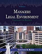 Managers and the Legal Environment: Strategies for Business PDF