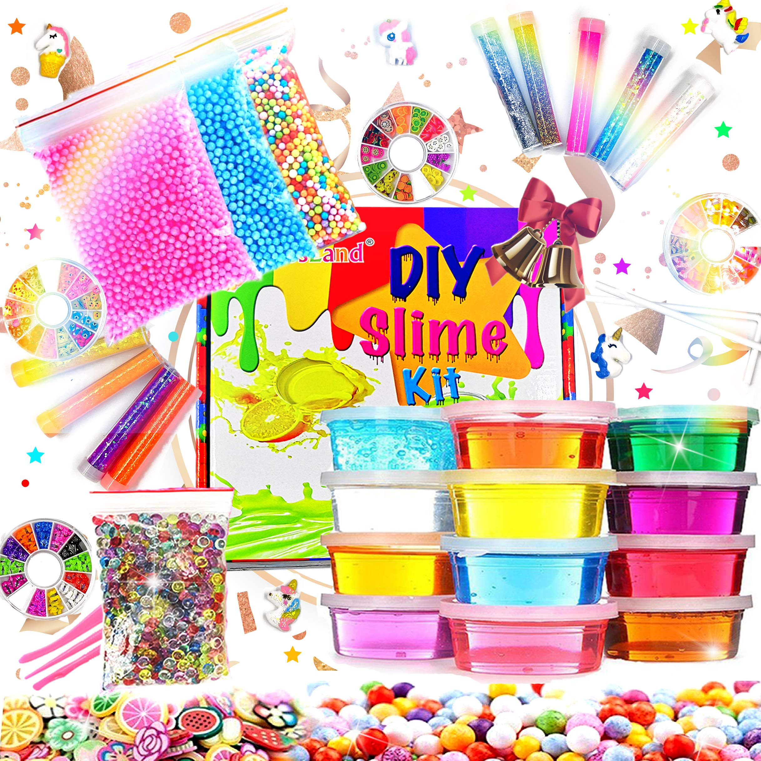 Slime Supplies Glitter Unicorn Making