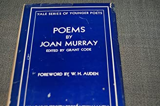 Poems by Joan Murray - Yale Series of Younger Poets