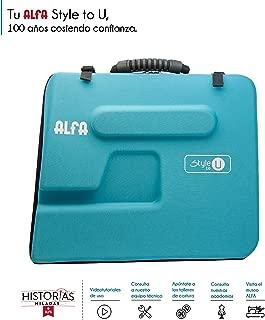 Alfa Style to You Funda para Maquina de Coser, Azul