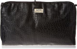 NYX PROFESSIONAL MAKEUP black croc travel bag, unique