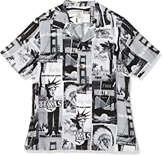 [ヒューストン] Aloha Shirt メンズ 40677