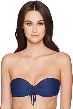Core Textured Bandeau Top